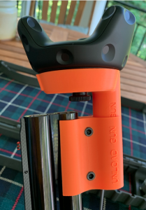 Attach barrel sleeve to Tracker bracket and to lower barrel